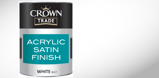 Crown Acrylic Satin Finish
