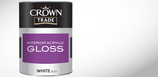 Crown Interior Acrylic Gloss